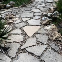 broken concrete walkway garden ideas