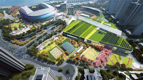 kai tak sports park groundbreaking marks  milestone