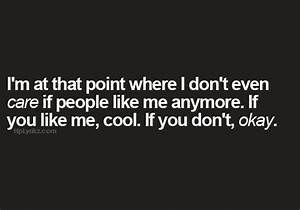 I Dont Care Anymore Quotes Tumblr   www.imgkid.com - The ...