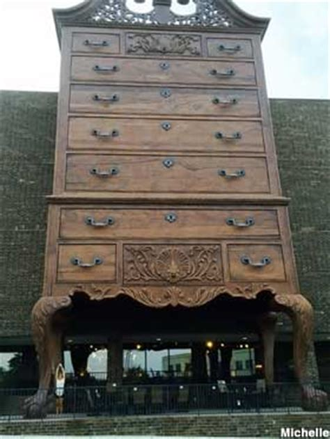 jamestown nc worlds largest highboy chest