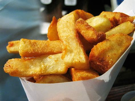 perfect french fries cook  book  eats