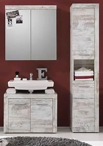 Badezimmer Set Günstig : badm bel badezimmer set wei pinie shabby chic mit ~ Watch28wear.com Haus und Dekorationen