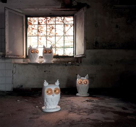 ti vedo is an owl shaped table and wall linspirationist