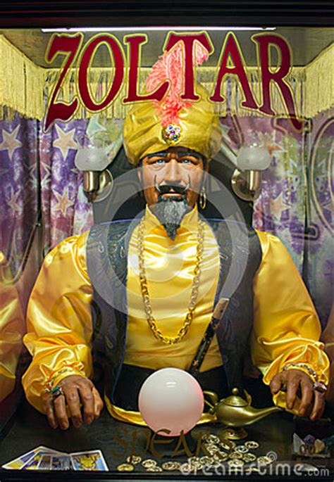 zoltar  fortune teller editorial photography image