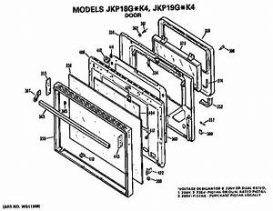 Ge Jkp18g K4 Electric Wall Oven Parts