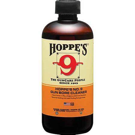 Hoppe's No. 9 Gun Bore Cleaner Powder Solvent, 1 Quart