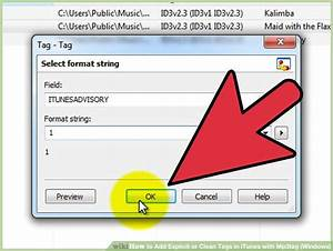 How to Add Explicit or Clean Tags in iTunes with Mp3tag ...