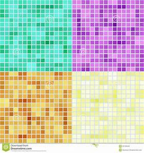 Mosaic Square Patterns Stock Photos - Image: 25725543