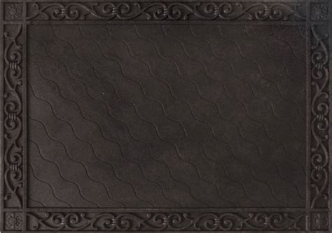 Doormat Well Frame by Basic Scrollwork Rubber Doormat Frame Tray