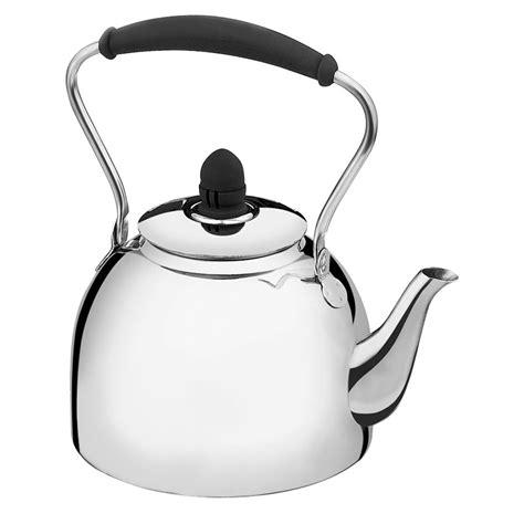 cuisinart stainless steel classic whistling tea kettle