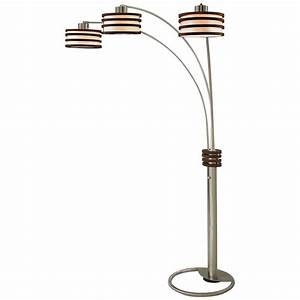 cool floor lamps with elegant 3 arm arch floor lamp With west e floor lamp