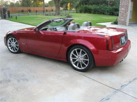 sell   cadillac xlr base convertible  door