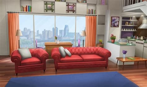 Adorable wallpapers > anime > anime backgrounds wallpapers (33 wallpapers). INT. FANCY APARTMENT LIVING ROOM - DAY   Living room ...