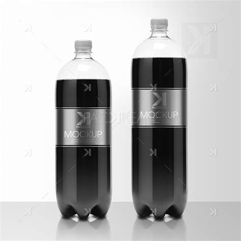 We have a rich list of different amazing bottle mockups for your design works. Packreate » Soda Plastic Bottle PSD Mockup - Cola