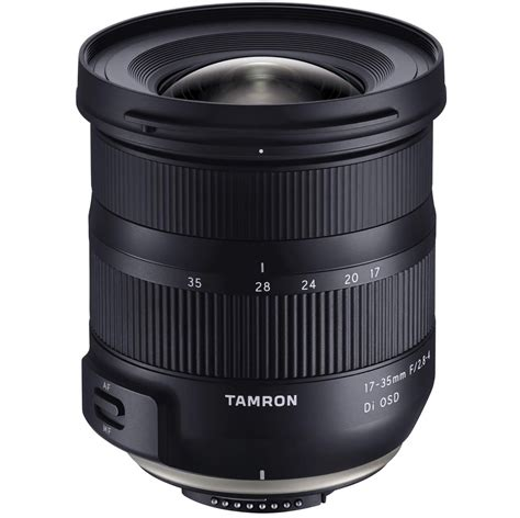 nikon model new tamron 17 35mm f 2 8 4 di osd lens for nikon f mount