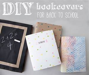 DIY: Back To School Book Covers
