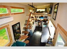 Tiny House On Wheels With IndoorOutdoor Entertaining