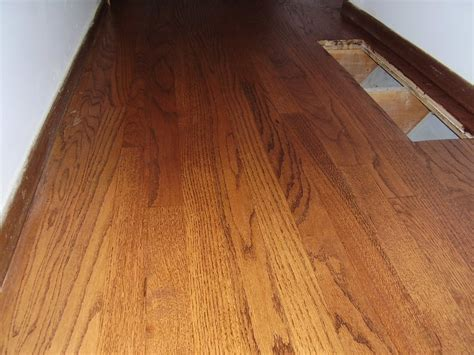 urine on hardwood floors refinished oak with chestnut stain a repair of