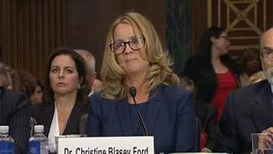 Kavanaugh accuser faces questions from GOP's prosecutor ...