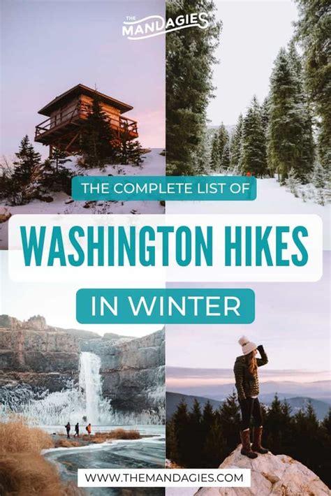 winter washington hikes olympic wa