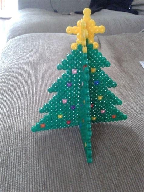 hama bead christmas tree     christmas