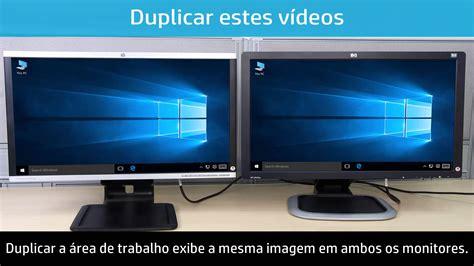 usando dois ou mais monitores com um computador no windows