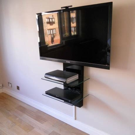 Floating Glass Cabinet - 50 best floating glass tv stands tv stand ideas