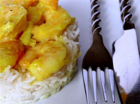 cuisiner au lait de coco curry de crevettes au lait de coco la tendresse en cuisine