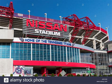 Nissan Tennessee by Nissan Stadium Home Of The Tennessee Nashville