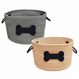 rope pet toy storage basket bed bath beyond With dog toy basket