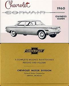 1960 Chevrolet Corvair Owner U0026 39 S Manual Reprint
