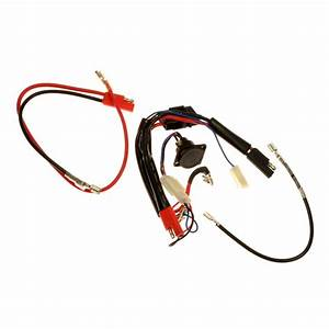 Complete 24 Volt 40 Amp Wire Harness For Currie 400 Series Scooters  Compatible With  Ezip  Izip
