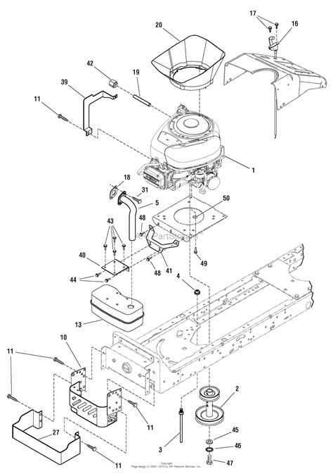 Murray Mower Carburetor Diagram by Murray 7800562 Mt175420 17 5hp 42 Quot Hydro Drive Manual