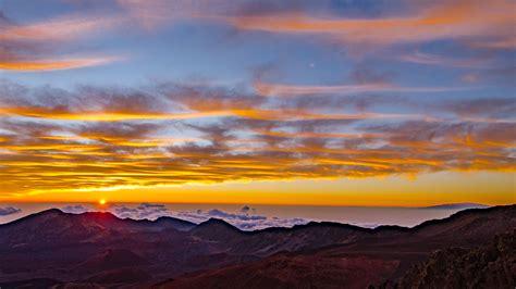 sunrise sunset haleakala national park national park service