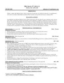 Sle Sales Rep Resume by Insurance Sales Rep Resume Sle 28 Images Outside Sales