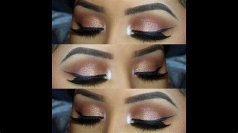 rose gold everyday eye makeup youtube