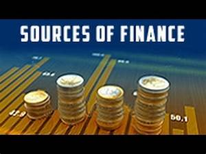 Sources of Finance - YouTube
