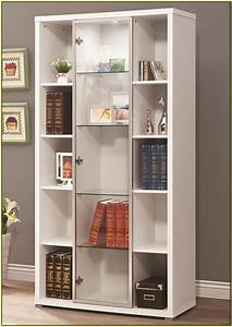 Bookshelves With Glass Doors Home Design Ideas