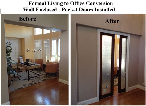 Living Room To Office Conversion  Vip Services Painting