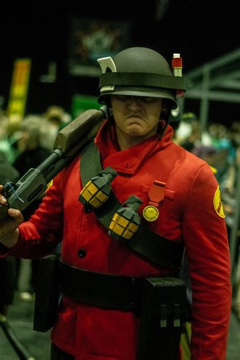 My Tf2 Soldier Cosplay From Mcm London May 2018 Tf2