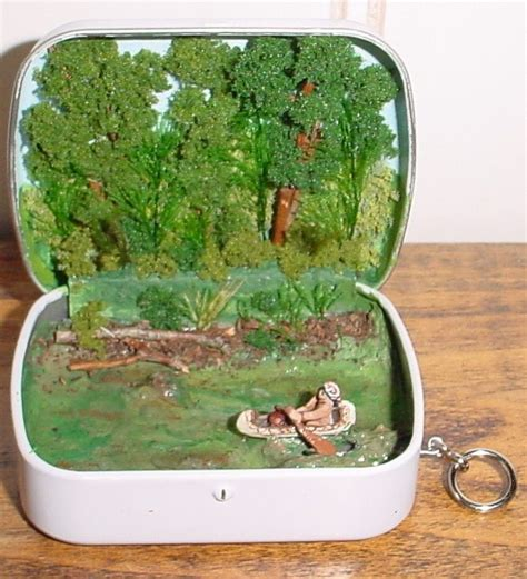 small packages canoe tin  finished  pinterest