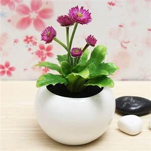 Decorative Flowers Potted Planters Artificial Plants