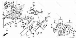 Honda Atv 2010 Oem Parts Diagram For Body    Cover
