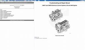 Cummins Troubleshooting And Repair Manual Isx Cm871 And