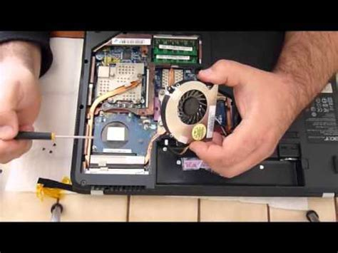 ordinateur de bureau msi changement réparation nettoyage du ventilateur pc acer