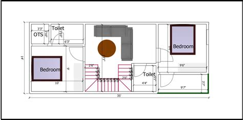 Click now to get started! AP024-Small Row House Plan - Archplanest