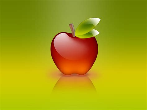 Wallpapers Glass Apple Wallpapers
