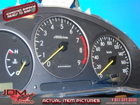 motor repair manual 1994 subaru impreza instrument cluster id 1828 subaru jdm engines parts jdm racing motors