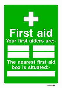 Meal Planning Chart First Aid Box Signs Poster Template