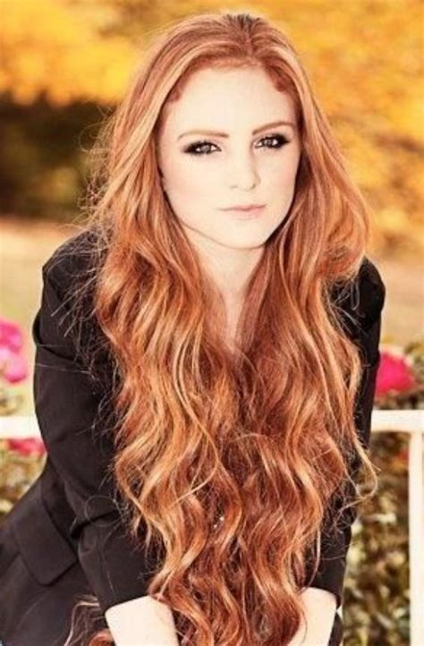 Gorgeous Loose Wavy Red Hair Hairstyles Pinterest